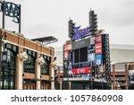 detroit  michigan  usa   march... | Shutterstock . vector #1057860908