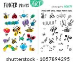Finger Prints Art. The Task...