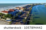 florida coastline in st... | Shutterstock . vector #1057894442