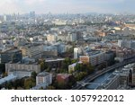 moscow  russia   october 8 ... | Shutterstock . vector #1057922012