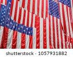 background of vintage american... | Shutterstock . vector #1057931882