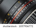 dslr lens close up  aperture... | Shutterstock . vector #1057936772