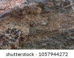 natural stone grey granite... | Shutterstock . vector #1057944272