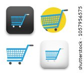 illustration of shopping cart... | Shutterstock .eps vector #1057956575
