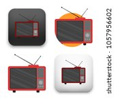 illustration of retro... | Shutterstock .eps vector #1057956602