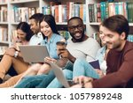 group of ethnic multicultural...   Shutterstock . vector #1057989248