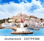 Eivissa Ibiza Town From Red...