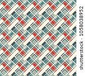 herringbone wallpaper. abstract ... | Shutterstock .eps vector #1058038952