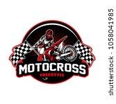 motocross sport vector...   Shutterstock .eps vector #1058041985