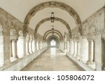 Archway At Fisherman's Bastion...