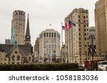 detroit  michigan  usa   march... | Shutterstock . vector #1058183036
