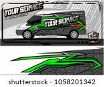 abstract van graphic kit for... | Shutterstock .eps vector #1058201342