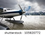 Float Plane Or Seaplane In...