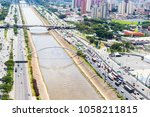 marginal tiete  sao paulo ... | Shutterstock . vector #1058211815