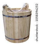 Picture Of A Wooden Bucket....