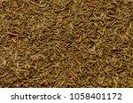background of herbal seasoning  ... | Shutterstock . vector #1058401172