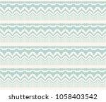 ikat seamless pattern. vector... | Shutterstock .eps vector #1058403542