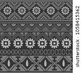 seamless native pattern... | Shutterstock .eps vector #1058415362