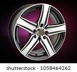 alloy wheel or rim for cars | Shutterstock . vector #1058464262