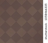 art deco pattern. seamless... | Shutterstock .eps vector #1058466335