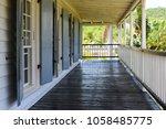 former naval officer's house ... | Shutterstock . vector #1058485775