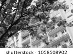 halftone dots effect digitally... | Shutterstock .eps vector #1058508902
