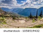 delphi  phocis   greece.... | Shutterstock . vector #1058519432