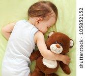 Sweet Child Sleeping With Tedd...