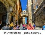 rome  italy   september 26 2016 ... | Shutterstock . vector #1058530982