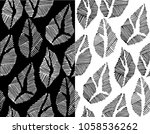 vector abstract seamless... | Shutterstock .eps vector #1058536262