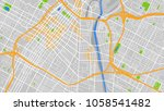map city los angeles | Shutterstock .eps vector #1058541482