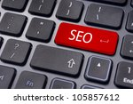 Search engine optimization, SEO concepts, internet website ranking. - stock photo