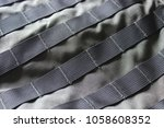 close up detail of the exterior ... | Shutterstock . vector #1058608352