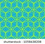decorative seamless geometric... | Shutterstock .eps vector #1058638208