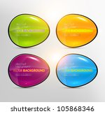 set of colorful vector banners... | Shutterstock .eps vector #105868346