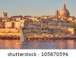 valletta  the capital city of... | Shutterstock . vector #105870596