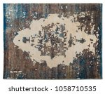 persian rug tribal | Shutterstock . vector #1058710535