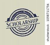 blue scholarship distress...   Shutterstock .eps vector #1058711756