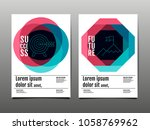 cover design  template layout... | Shutterstock .eps vector #1058769962