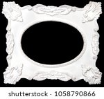 black and wight photo frame... | Shutterstock . vector #1058790866
