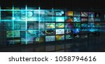 data protection system and...   Shutterstock . vector #1058794616