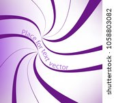 purple abstract vector abstract ... | Shutterstock .eps vector #1058803082