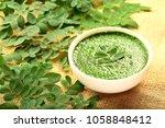 human skin nourishing herbal...   Shutterstock . vector #1058848412