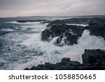 Rugged Icelandic Coastline Wit...