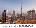 dubai  uae   february 2018 ... | Shutterstock . vector #1058874062