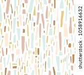terrazzo seamless pattern.... | Shutterstock .eps vector #1058916632