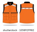 vest tank top design ... | Shutterstock .eps vector #1058929982