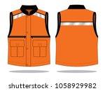 vest tank top design ... | Shutterstock .eps vector #1058929982