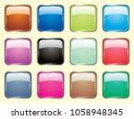 button icon vector | Shutterstock .eps vector #1058948345