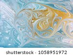 marble abstract acrylic... | Shutterstock . vector #1058951972